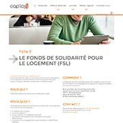 Fonds de Solidarité pour le Logement (FSL)